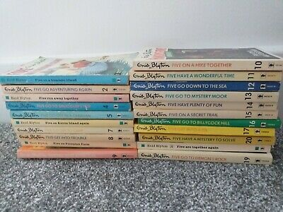 £35 • Buy Enid Blyton Famous Five - Vintage  Complete Set - Includes Some From TV Series