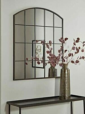 £84.99 • Buy 76x96cm Large Arch Mirror Metal Frame Wall Mounted Window Style Wall Mirror