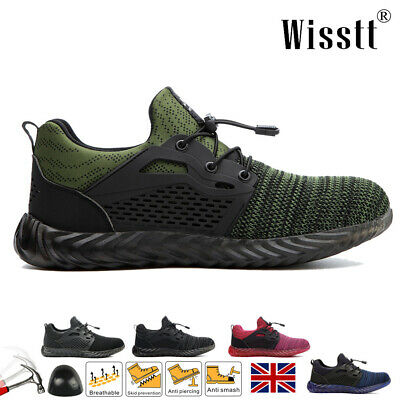 £22.99 • Buy Women's Steel Toe Work Boots Hiking Safety Shoes Protective Sneaker Lightweight