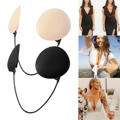 £12.89 • Buy Invisible Push-Up Frontless Bra Silicone Deep Plunge Backless&Strapless Bra Kit
