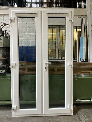 £350 • Buy REFURBISHED UPVC PATIO FRENCH DOORS 1190mm Wide By 2065mm Height (FR200)