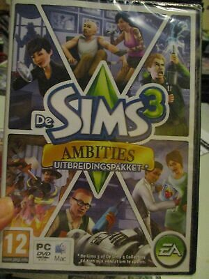 £15 • Buy **Sealed** The Sims 3: Ambitions Expansion Pack (Dutch) Pal PC DVD / Mac