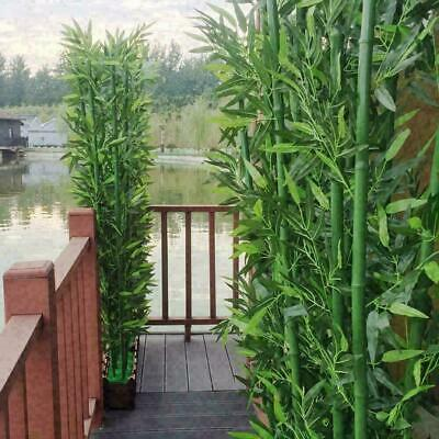 £6.39 • Buy 20x/Lots Artificial Plant Bamboo Leaf Branch For Fake Tree Wedding Home Decor UK