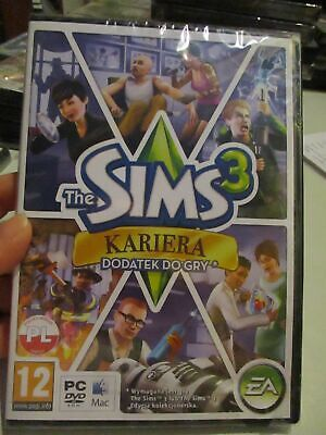 £15 • Buy **Sealed** The Sims 3: Ambitions Expansion Pack (Polish) Pal PC DVD / Mac
