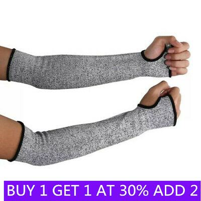 £7.29 • Buy 1 Pair Safety Protective Arm Sleeve Guard Cut Proof Anti Cut-Resistant Gloves BA