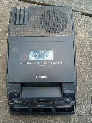 £9.99 • Buy Philips LFH 720 Transcription Machine - Dictation System MACHINE ONLY UNTESTED