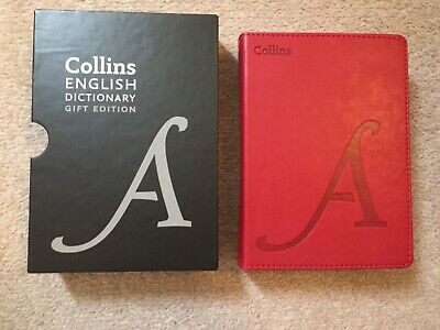 £8.99 • Buy Collins English Dictionary Leather Bound Gift Edition Book Brand New