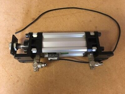 £60 • Buy Pneumax Pneumatic Cylinder 0001500759H, Magnetic, 80mm Stroke, Mounting Brackets
