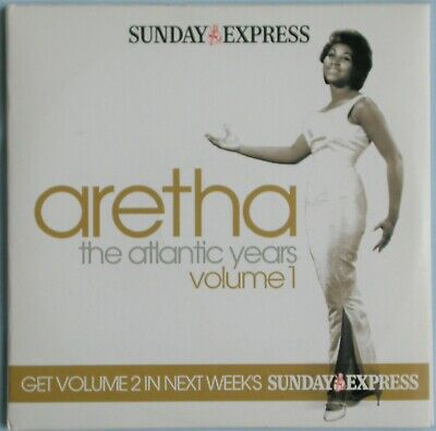 £2.49 • Buy Aretha Franklin ~ The Atlantic Years ~ 14 Track Double Cd ~ Sunday Express Promo