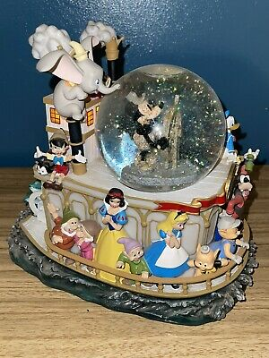 £165 • Buy Disney Mickey Mouse Steamboat Willie 75th Anniversary Snowglobe Snow Globe