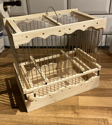 £35 • Buy Bird Cage Mule, Finch, Canary Present Wooden