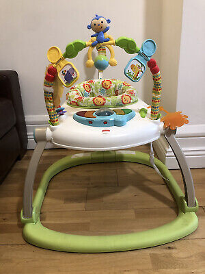 £19.99 • Buy Fisher-Price CHN38 Rainforest Spacesaver Jumperoo Portable Baby Chair