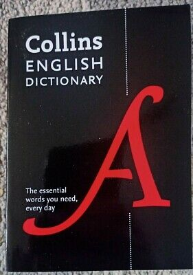 £5 • Buy Collins English Dictionary 2016 Paperback Edition