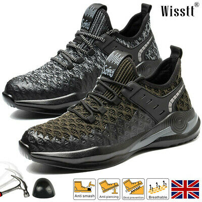 £21.75 • Buy Womens Lightweight Steel Toe Cap Trainers ESD Safety Shoes Work Boots Footwear