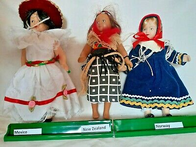 £2.95 • Buy DeAgostini Porcelain Dolls Of The World Collector's- Mexico, New Zealand, Norway