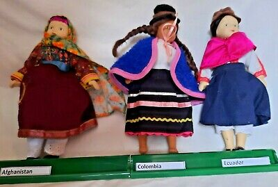 £2.95 • Buy DeAgostini Porcelain Dolls Of The World Collector's Afghanistan Colombia Ecuador