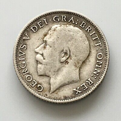 £6.10 • Buy George V Sixpence 1917 Fairly Low Grade