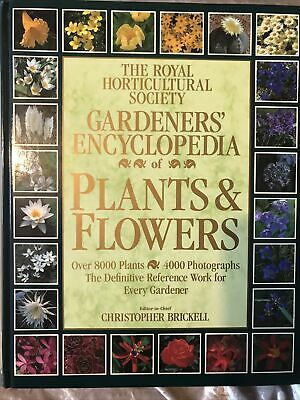 £6.50 • Buy The Royal Horticultural Society Gardeners' Encyclopaedia Of Plants And Flowers