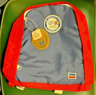 £28.29 • Buy Levi Strauss Vintage Olympics 1984 Backpack New With Tags