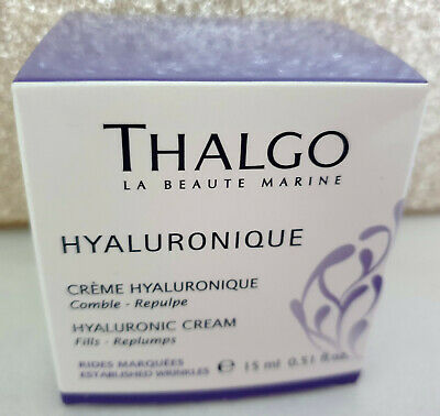 £18.99 • Buy Thalgo Hyaluronique Hyaluronic Cream Creme 15ml Fills, Replumps Deep Wrinkles