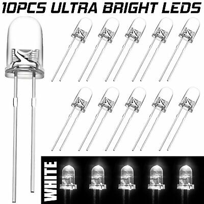 £1.89 • Buy 10 X 5mm IR LED Infrared 940nm Light Emitting Diode Lamp Water Clear