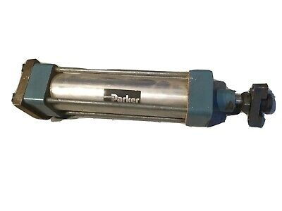 £19.80 • Buy PARKER Pneumatic Double Acting Air Cylinder 70x70 Mm -50cm Open - Good Condition
