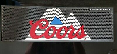 £14.99 • Buy Coors Light Official Beer Large Rubber Service Bar Mat