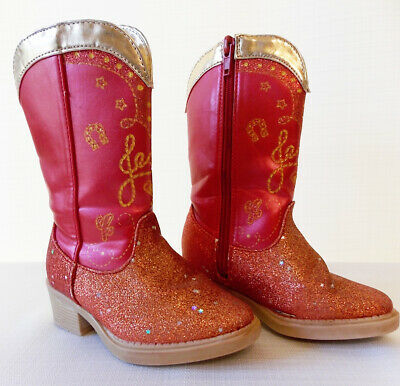 £13.76 • Buy Disney Store Toy Story Jessie Red Western Cowgirl Boots Size 7/8 Shoes Costume