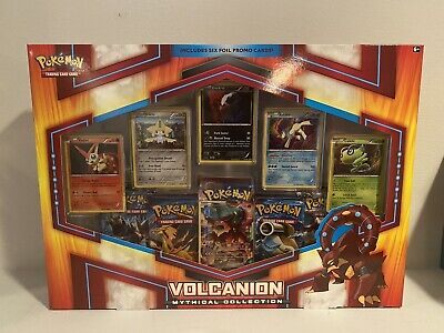 $90 • Buy Pokemon Volcanion Mythical CollectionBox Brand New Factory Sealed