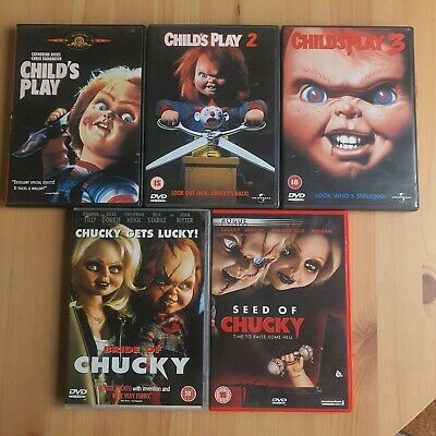 £15 • Buy Childs Play Dvd Collection Chucky 1-3 BRIDE And Seed