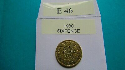 £1.25 • Buy 1930 George V1 Silver Sixpence