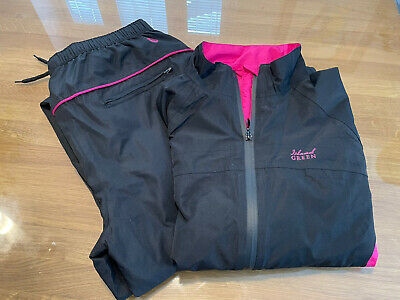 £21 • Buy Ladies Island Green Golf Waterproofs. Size 14. Jacket And Trousers. Excellent Co