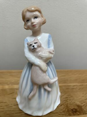 £8.99 • Buy Royal Doulton My First Pet Figure HN 3122 Girl With Cat 1991