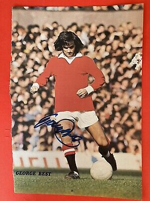 £149.99 • Buy George Best- Manchester Utd Signed Picture