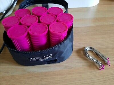 £14.99 • Buy TRESEMME Heated Hot Rollers Curlers Travel Set Case & Pins - Working FREEPOST