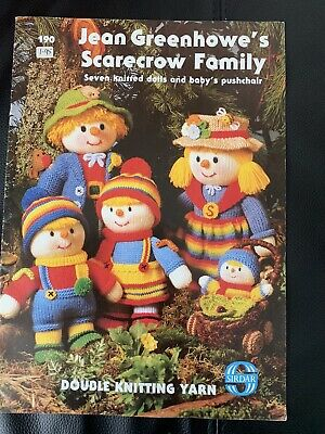 £0.99 • Buy Jean Greenhowe's Scarecrow Family Knitting Patterns