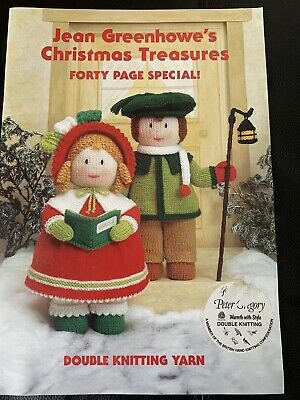 £5 • Buy Jean Greenhowe Christmas Treasures 40 Page Special Knitting Booklet Pattern Rare