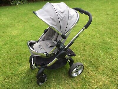 £150 • Buy ICandy Peach Travel System, Pushchair, Carrycot+ Accessories, Silver Mint