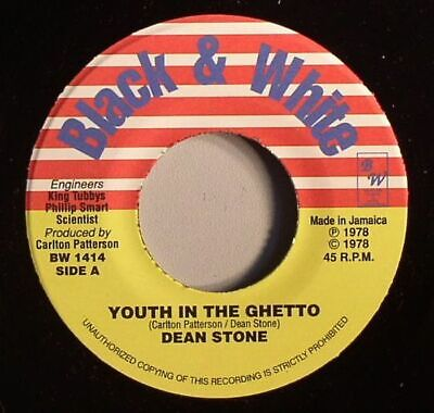 £8.74 • Buy STONE, Dean/KING TUBBYS/MIKEY DREAD - Youth In The Ghetto - Vinyl (7 )