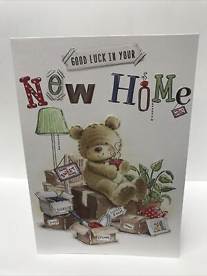 £1.78 • Buy New Home Greeting Card