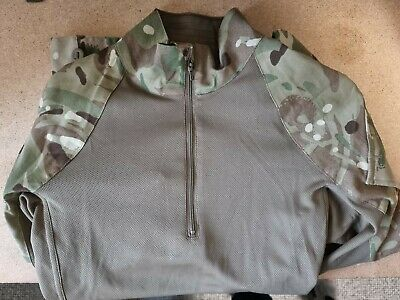 £15 • Buy Genuine British Army Mtp Green Under Armour Combat Shirt-ubacs Warm Weather