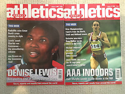 £1.99 • Buy Athletics Weekly Magazines - 2001 - 2 Issues