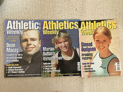 £1.99 • Buy Athletics Weekly Magazines - 1999 - 3 Issues