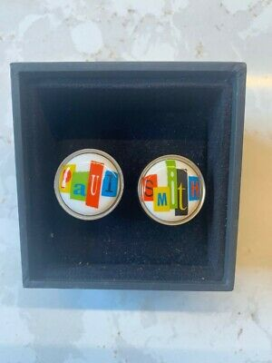 £22 • Buy Paul Smith Cufflinks, Colourful, Decorated  Paul  And  Smith