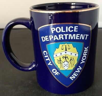 £15 • Buy City Of New York Police Department Mug By City Merchandise