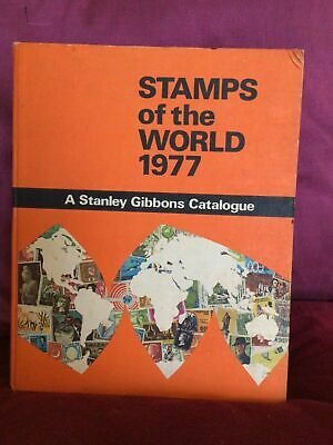 £17 • Buy Stamps Of The World 1977 - A Stanley Gibbons Catalogue - Hardback Book