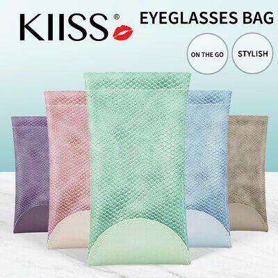 AU6.57 • Buy Mouth Snapped Sunglasses Eyeglass Glasses Case Soft Pouch Bag Pocket Spectacle