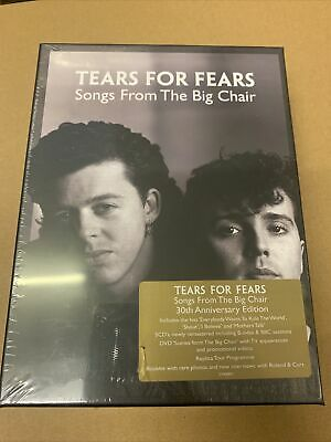 £109.99 • Buy Tears For Fears Songs From The Big Chair Super Deluxe 4CD/2DVD  SEALED . SEE Pic