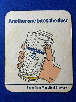 £3.99 • Buy Beer Mat Coaster - Two Sided -  Mansfield Brewery Chesterfield    (ff250)
