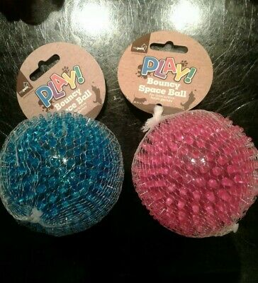 £2.50 • Buy Dog Rubber Ball Spikey. New With Tags. Pink Or Blue